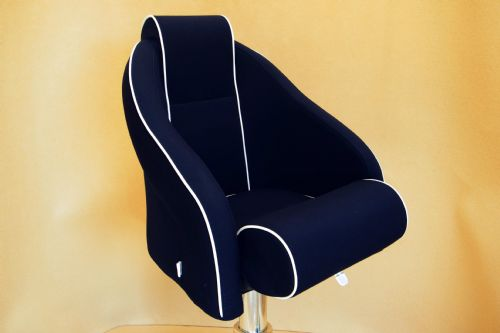 PF4552 with Head Rest (Navy) Textile (Out of Stock)